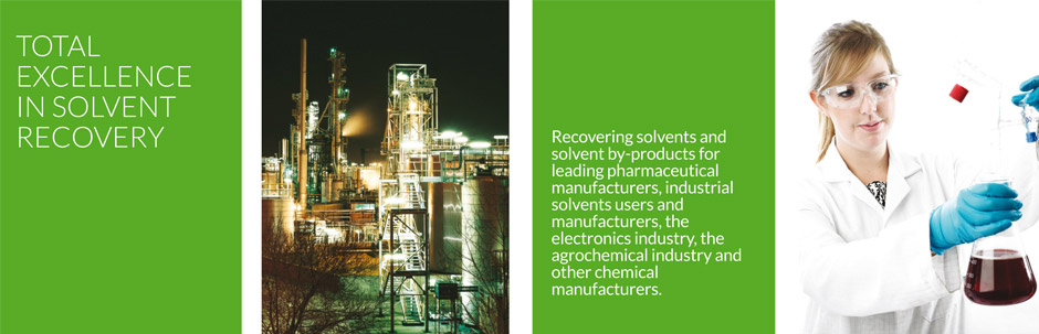 Total excellence in solvent recovery