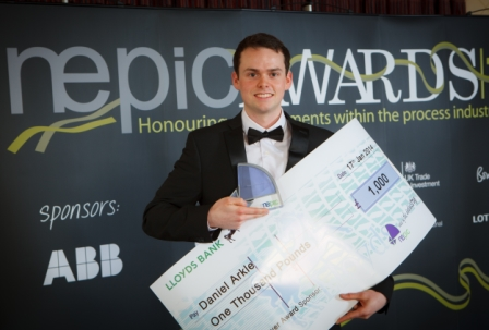 Dan Arkle Wins Young Achiever Award