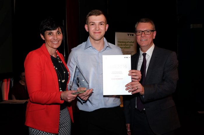 Chemoxy Apprentice receives TTE Award