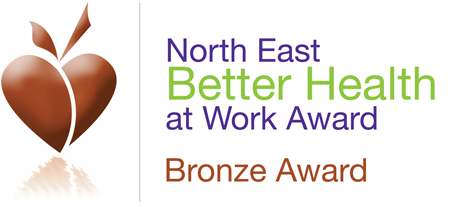 Chemoxy receives North East Better Health at Work Bronze Award
