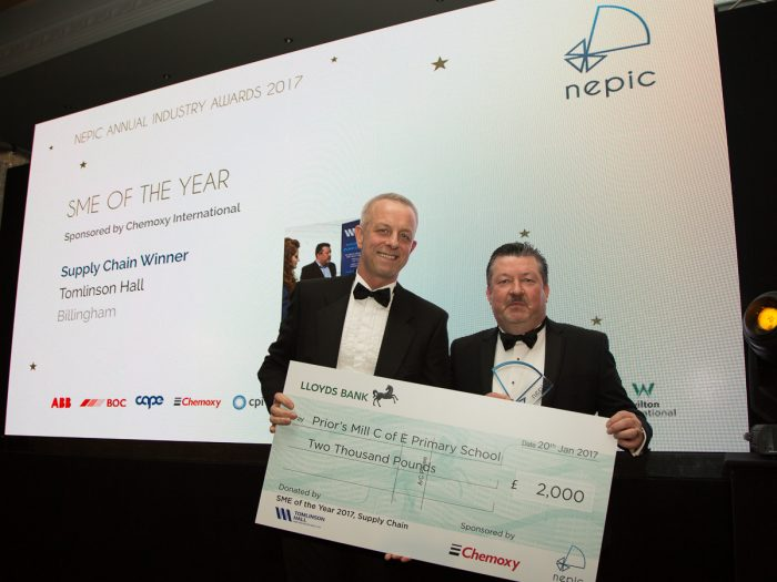 Chemoxy sponsor NEPIC supply chain SME of the year 2017