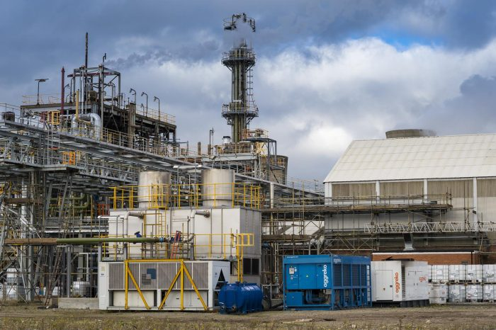 Chemoxy go the extra mile with  Aggreko technology to win new business