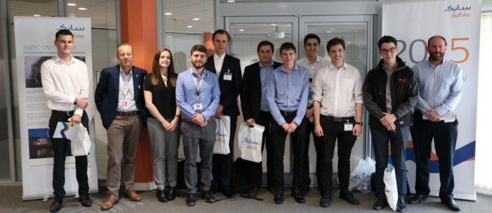 Chemoxy's Year In Industry Student Attends Sabic Networking Day