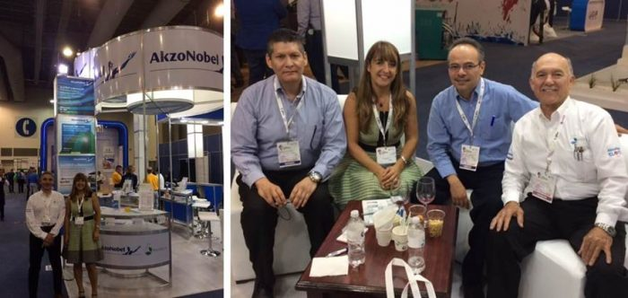 Chemoxy inaugural visit to the Latin American Coatings Show LACS 2017