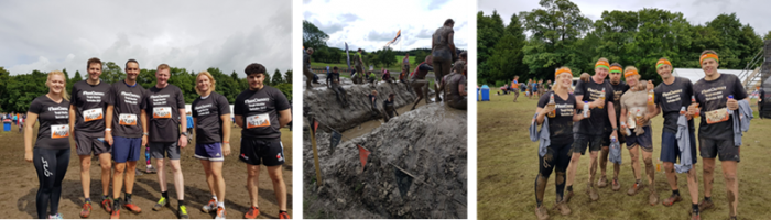 Team Chemoxy Take on  Tough Mudder