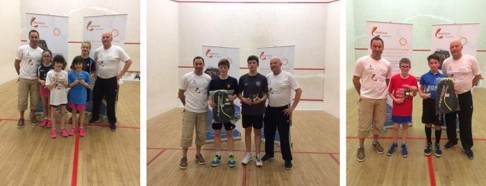 Chemoxy sponsor squash tournament