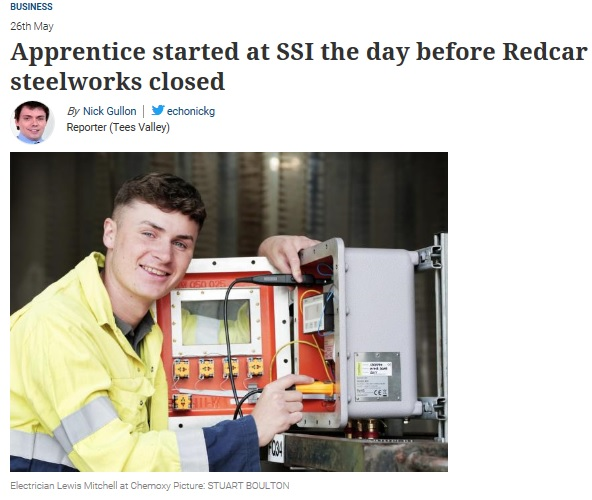 SEQENS Apprentice Features in Local News