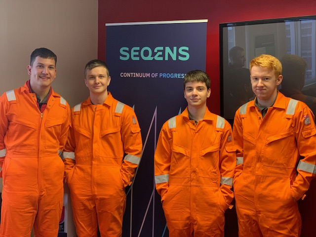SEQENS Billingham Welcomes Four New Process Apprentices