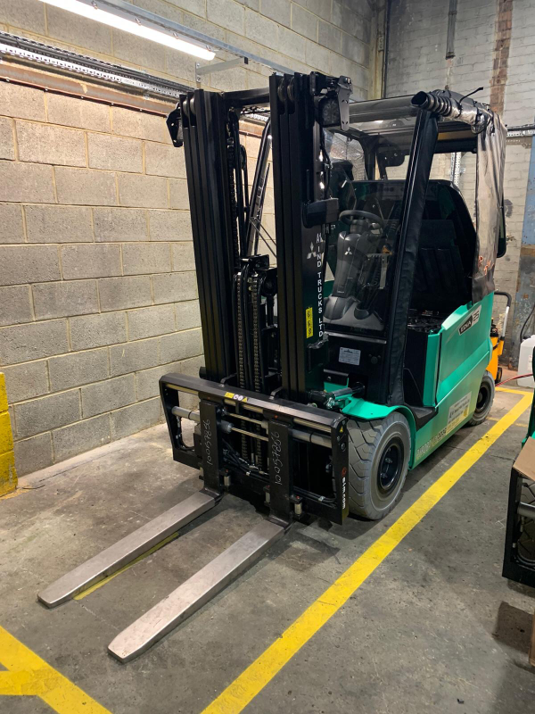 Seqens Goes Green with Electric Forklifts